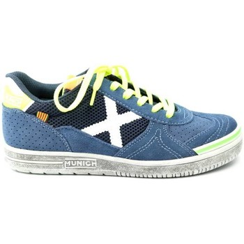 sneakers Munich Fashion JONGENS sneaker 1510 blauw