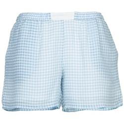 Textiel Dames Korte broeken / Bermuda's Brigitte Bardot ANGELIQUE Blauw / Wit