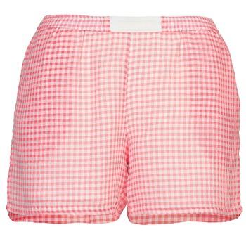 Textiel Dames Korte broeken / Bermuda's Brigitte Bardot ANNE Rood / Wit