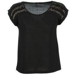 Textiel Dames Tops / Blousjes Color Block AILEEN Zwart