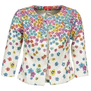 Textiel Dames Jasjes / Blazers Derhy JOCASTE Ecru