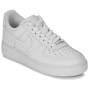 Schoenen Dames Lage sneakers Nike AIR FORCE 1 07 LEATHER W Wit