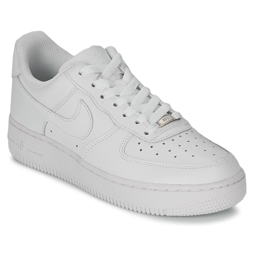 sneakers for cheap 8fc5b ad4b0 Schoenen Dames Lage sneakers Nike AIR FORCE 1 07 LEATHER W Wit