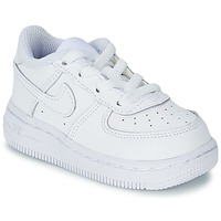 Schoenen Jongens Lage sneakers Nike AIR FORCE 1 Wit