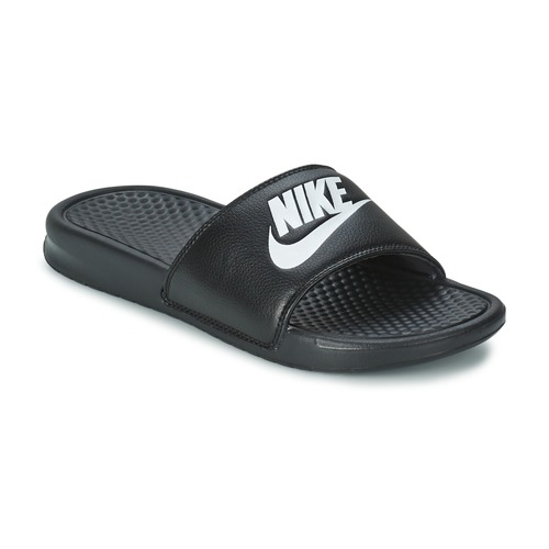 Schoenen Heren slippers Nike BENASSI JUST DO IT Zwart