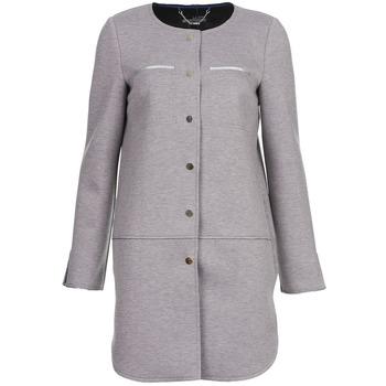 Textiel Dames Mantel jassen La City FLORA Grijs