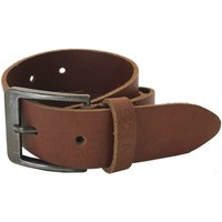 Accessoires Heren Riemen No Excess Belt, leather, buckle, washed, embo camel Bruin