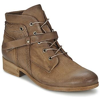 Schoenen Dames Laarzen Mjus SANDEO Bruin
