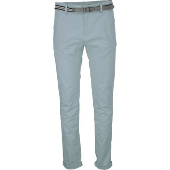 Textiel Heren 5 zakken broeken No Excess Pant, slim fit chino, gd stretch tw zinc Grijs