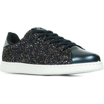 Schoenen Dames Lage sneakers Victoria Deportivo Tenis Glitter Y Espero Blauw