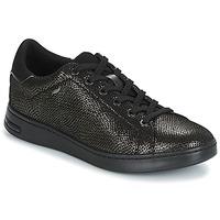 Schoenen Dames Lage sneakers Geox D JAYSEN Grijs / Zwart