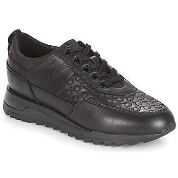 Schoenen Dames Lage sneakers Geox D TABELYA Zwart