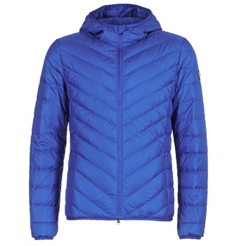 Textiel Heren Dons gevoerde jassen Emporio Armani EA7 TRAIN CORE SHIELD 8NPB09 Blauw / Electric