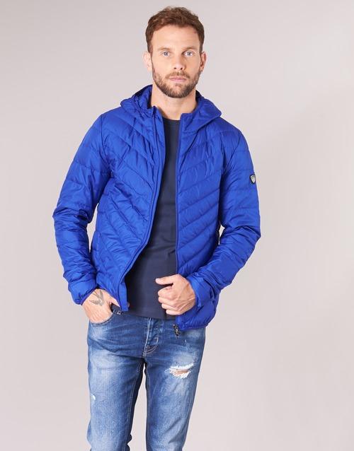 Textiel Heren Dons gevoerde jassen Emporio Armani EA7 TRAIN CORE SHIELD 8NPB09 Blauw / Electric