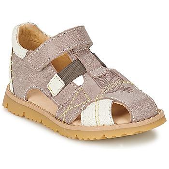 Schoenen Jongens Sandalen / Open schoenen GBB INCAS Bruin