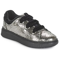 Schoenen Meisjes Lage sneakers Geox J DISCOMIX GIRL Zilver
