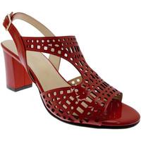 Schoenen Dames Sandalen / Open schoenen Soffice Sogno SOSO8130ro rosso