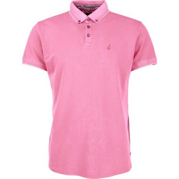 Textiel Heren Polo's korte mouwen No Excess T-shirt s/sl, polo, bttn down, piqu old pink Roze