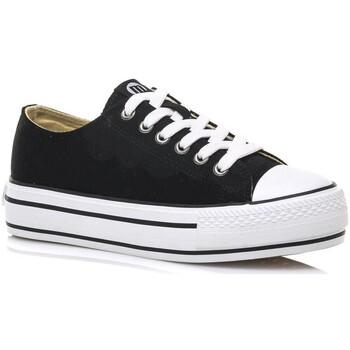 Schoenen Lage sneakers MTNG 69423 Zwart