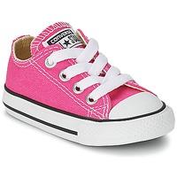 Schoenen Meisjes Lage sneakers Converse Chuck Taylor All Star SEASON OX Roze