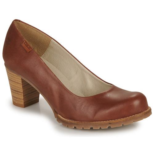 Schoenen Dames pumps Casual Attitude HARCHE Bruin