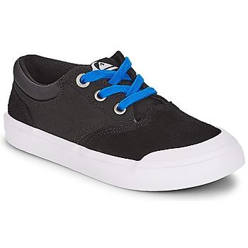Schoenen Jongens Lage sneakers Quiksilver VERANT YOUTH Zwart
