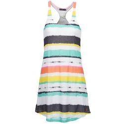 Textiel Dames Korte jurken Little Marcel ROSINA Wit / Multi