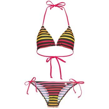 Textiel Dames Bikini Little Marcel BASTINE Zwart / Multi