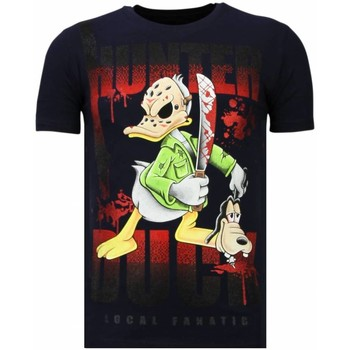 Textiel Heren T-shirts korte mouwen Local Fanatic Hunter Duck - Rhinestone T-shirt