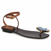 Schoenen Dames Sandalen / Open schoenen Marc Jacobs MJ16131 Bruin / Blauw