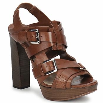Schoenen Dames Sandalen / Open schoenen Michael Kors MOWAI Bruin