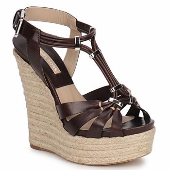 Schoenen Dames Sandalen / Open schoenen Michael Kors IDALIA Bruin