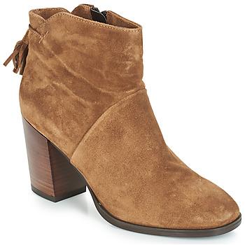 Schoenen Dames Laarzen André CARESSE Camel