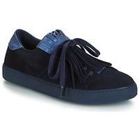 Schoenen Dames Lage sneakers André CALIFORNIA Blauw