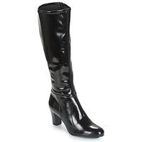 Schoenen Dames Hoge laarzen André GANTELET 3 Zwart