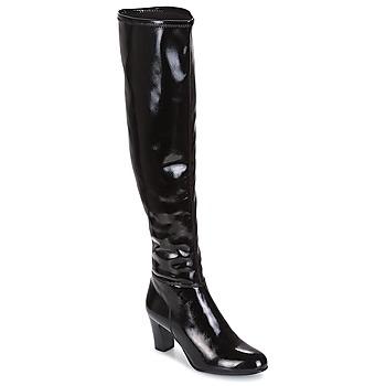 Schoenen Dames Hoge laarzen André PRISCA 2 Zwart