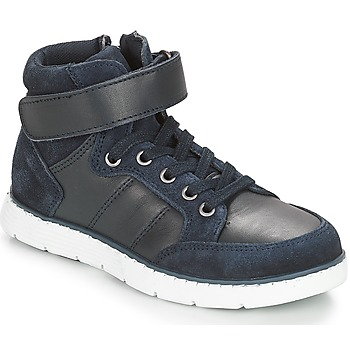 Schoenen Jongens Hoge sneakers André TOM Marine
