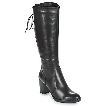 Schoenen Dames Hoge laarzen André OPALE Zwart