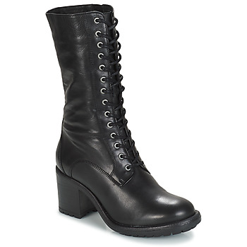 Schoenen Dames Hoge laarzen André DARK Zwart