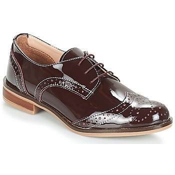 Schoenen Dames Derby André PLYMOUTH Bordeau