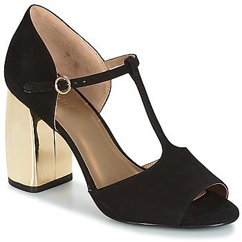 Schoenen Dames Sandalen / Open schoenen André ELEONORE Zwart