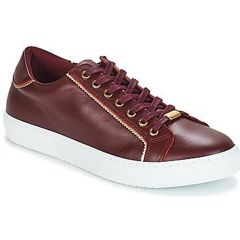 Schoenen Dames Lage sneakers André BERKELITA Bordeau