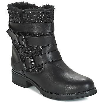 Schoenen Dames Laarzen André BRIGITTE Zwart