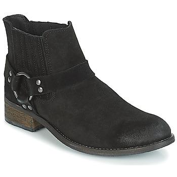 Schoenen Dames Laarzen André ELBA Zwart