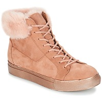 Schoenen Dames Hoge sneakers André ILDA Roze