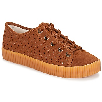 Schoenen Dames Lage sneakers André STARLIGHT Bruin
