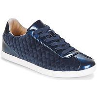 Schoenen Dames Lage sneakers André VELVET Blauw