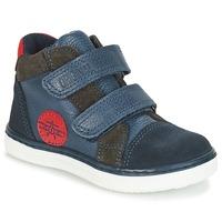 Schoenen Jongens Hoge sneakers André JET Blauw