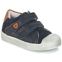 Schoenen Jongens Lage sneakers André TOBOGGAN Marine