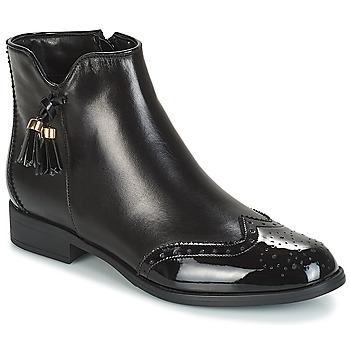 Schoenen Dames Laarzen André ALINA Zwart